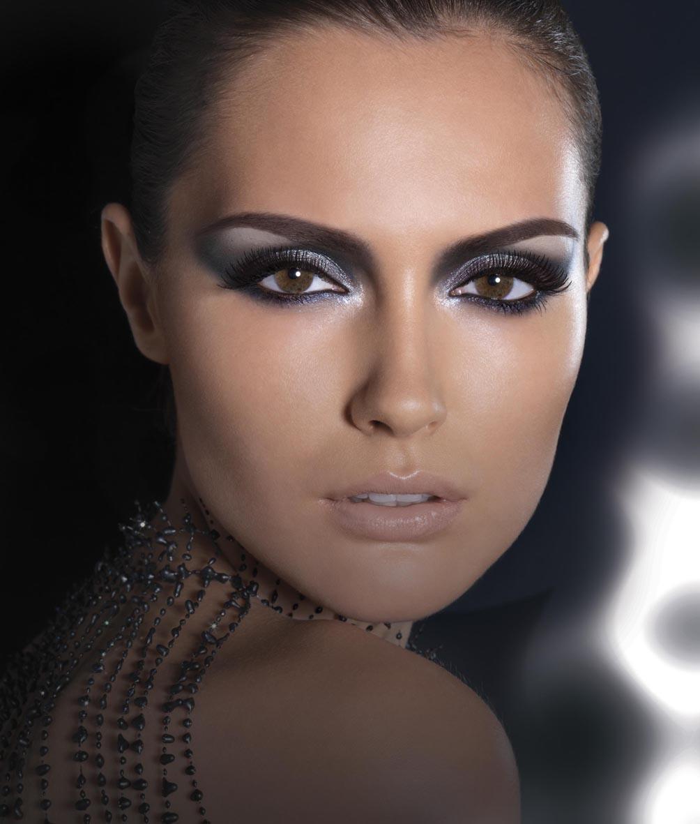 How to do the evening make-up?